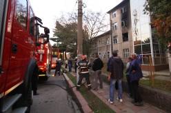 Clipe de coșmar la Spitalul CFR din Simeria. 54 de pacienți, evacuați din cauza unui incendiu