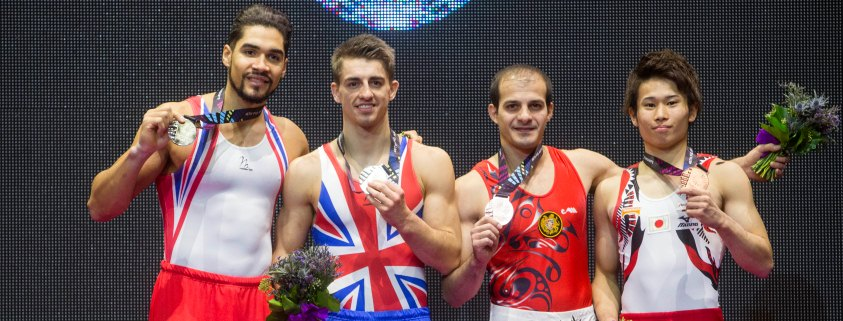 pommel-final-podium