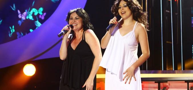 Tania Popa cântă pentru prima oară cu fiica ei, Daria, la Te cunosc de undeva