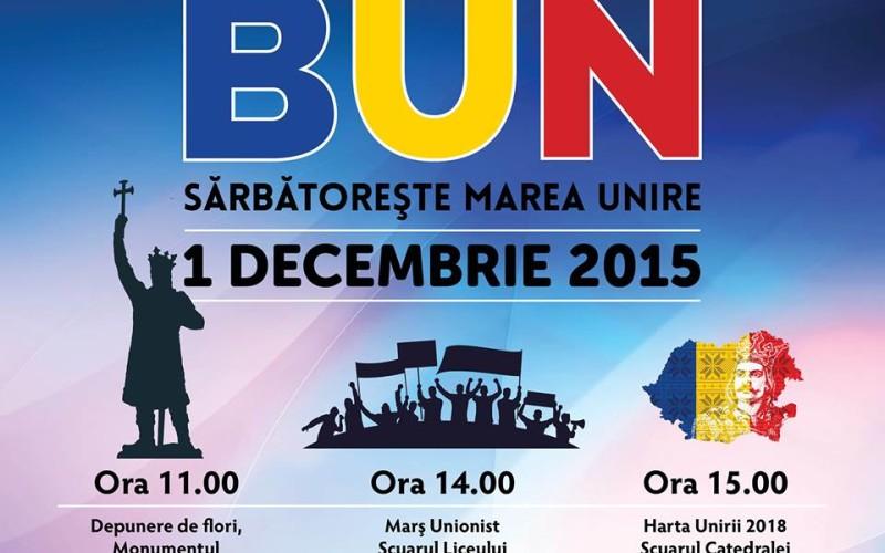 Ziua Națională a României, sărbătorită pe 1 decembrie la Chișinău