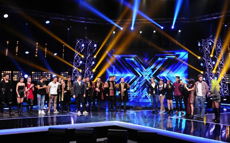 Jurații X Factor au ales nouă concurenți pentru Galele Live ce încep pe 18 decembrie