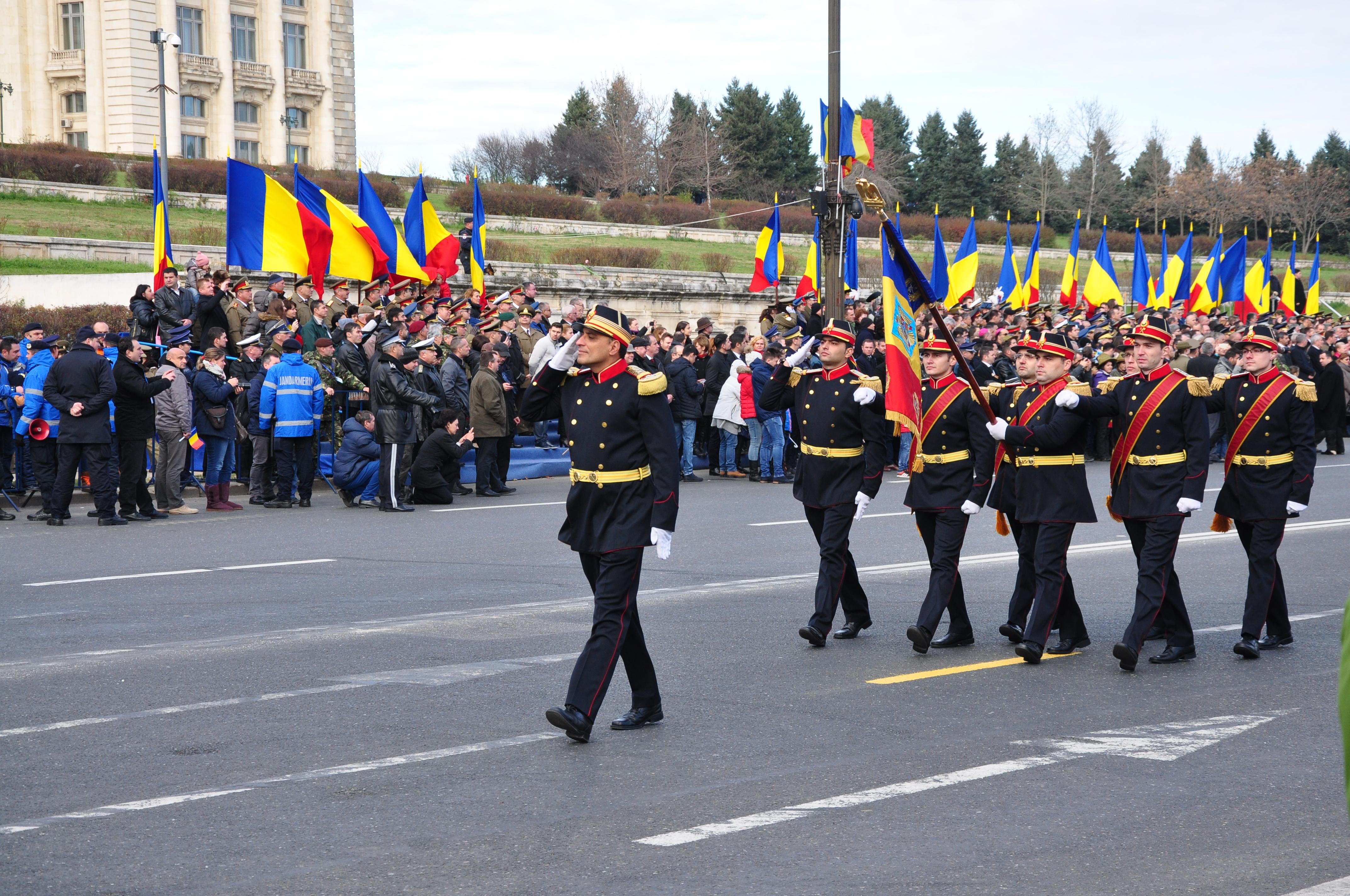 parada militara 1 decembrie - militari