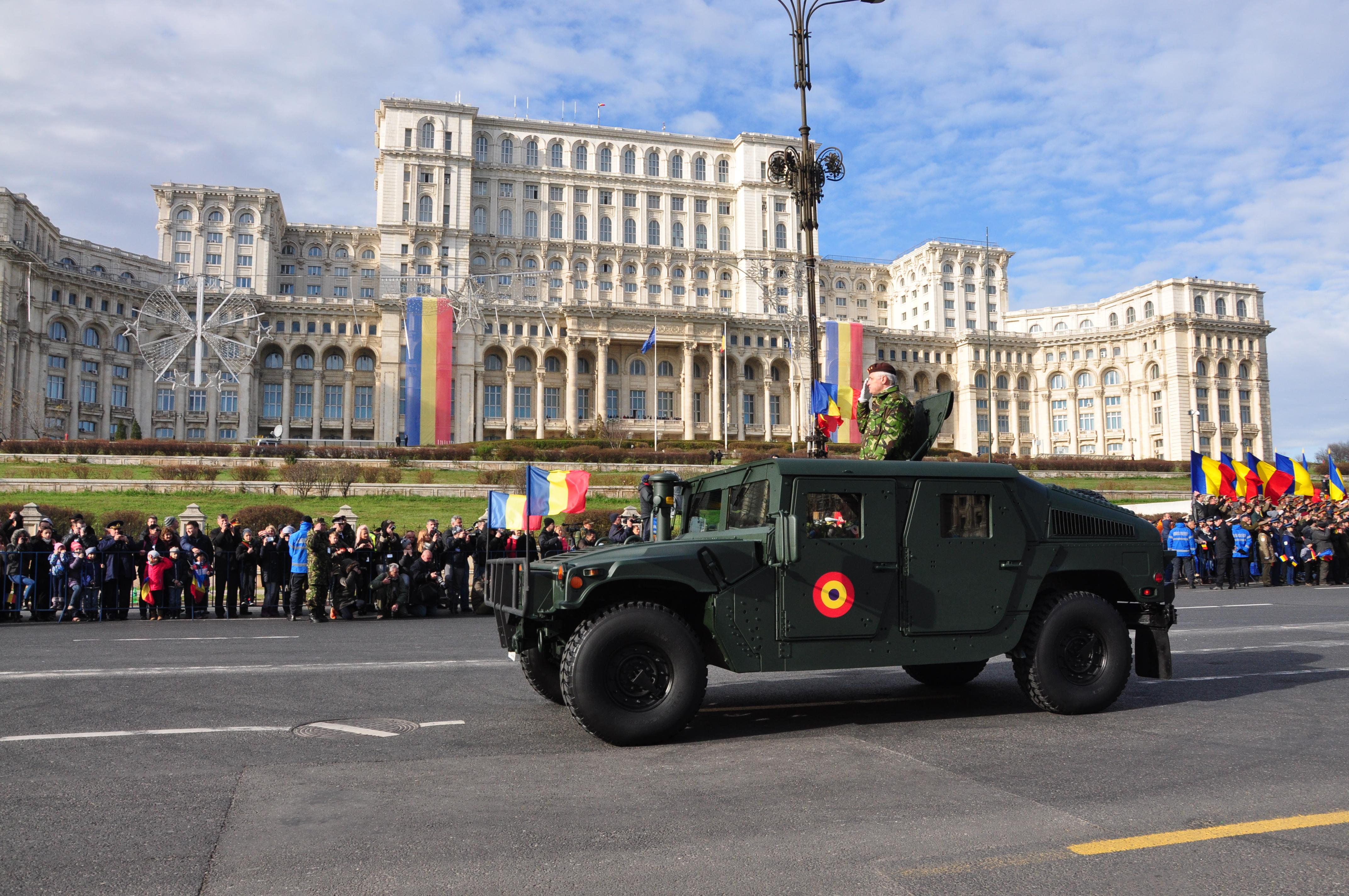 tanc parada militara