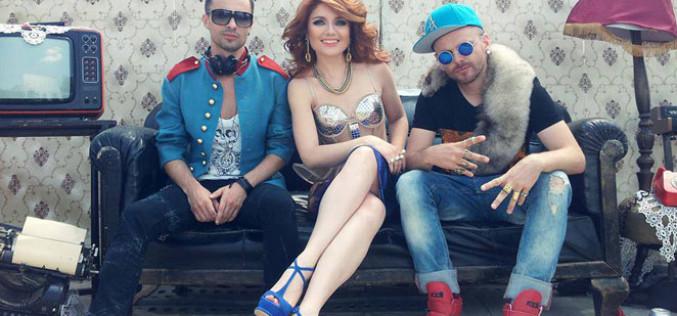 """Nebunie generală la filmările """"C'est la vie"""", cu Alexandra Ungureanu şi Crush!"""