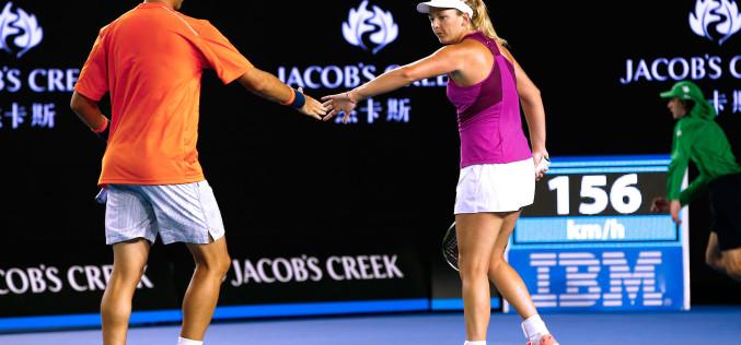 Horia Tecău și Coco Vandeweghe au ratat titlul la dublu mixt la Australian Open
