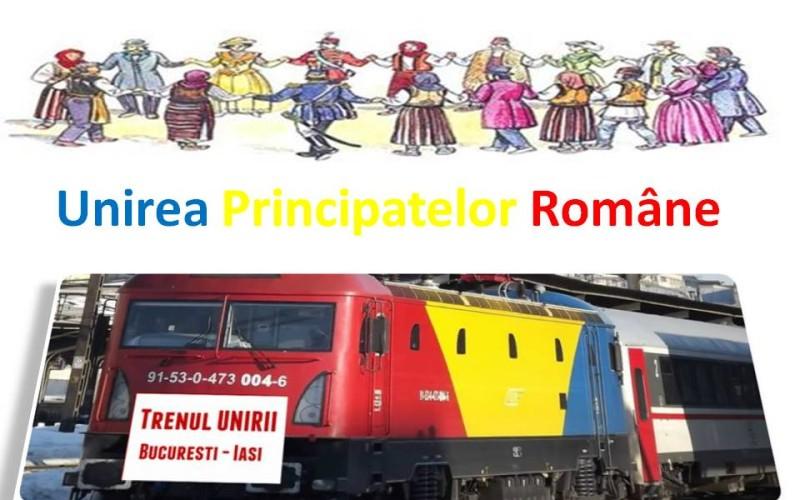 Unirea Principatelor Române, marcată de CFR prin evenimente organizate în peste 80 de gări