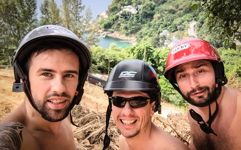 Florin Ristei s-a accidentat serios la picior, în Thailanda