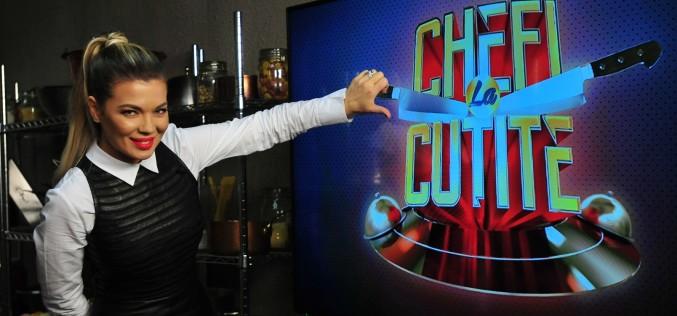 "Gina Pistol va prezenta emisiunea ""Chefi la cuțite"" de la Antena 1"