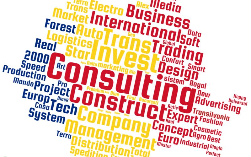 România, ţara SRL-urilor cu nume pompoase precum Consulting şi Invest