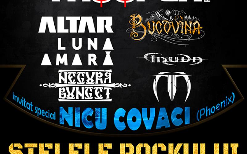 Bucovina cântă la Stelele rock-ului românesc