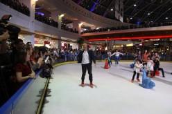 Călin Goia, show de 8 martie pe patine în fața a mii de fani