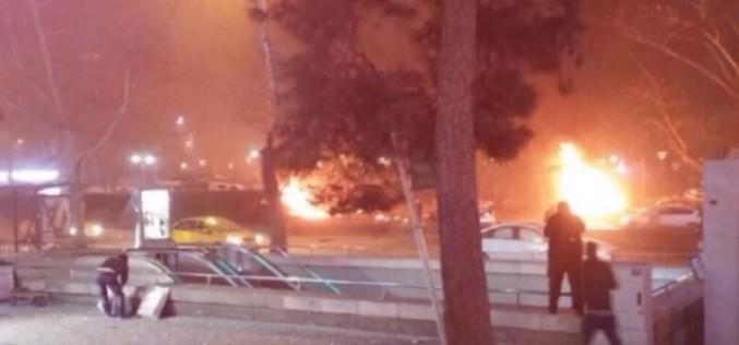 Atentat terorist în Turcia. 27 de persoane au fost ucise într-o explozie produsă la Ankara