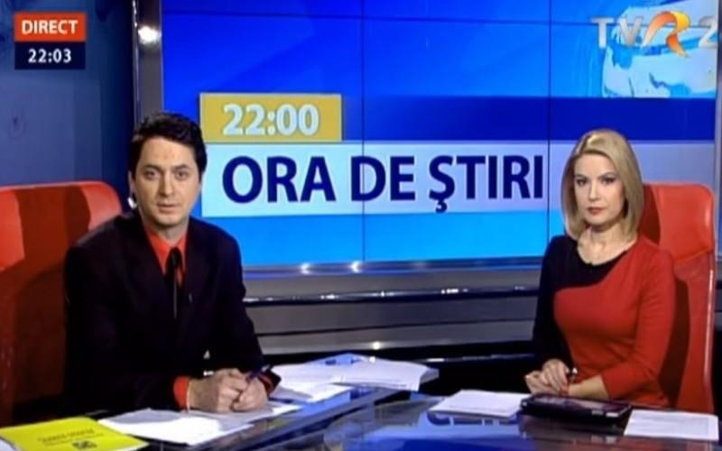 Ora de Ştiri de la TVR 2 îşi schimbă ora de difuzare