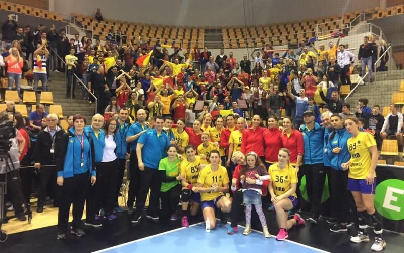 România merge la Rio și cu naționala de handbal feminin