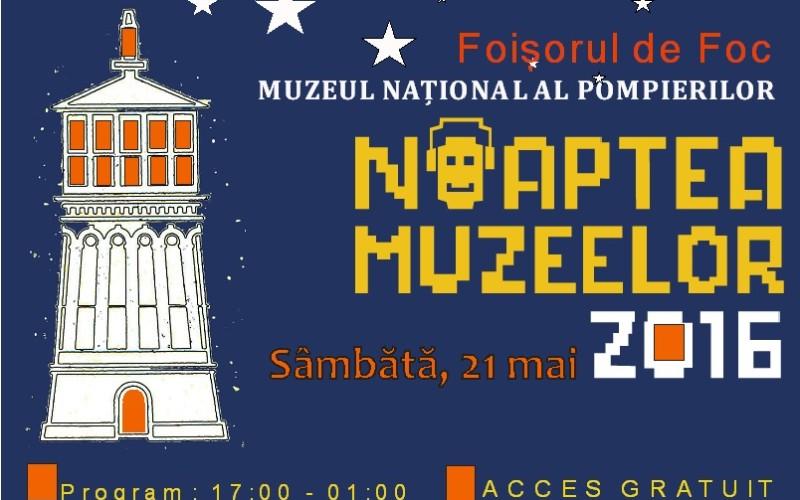 Pompierii ne invită la Foișorul de Foc în Noaptea Muzeelor