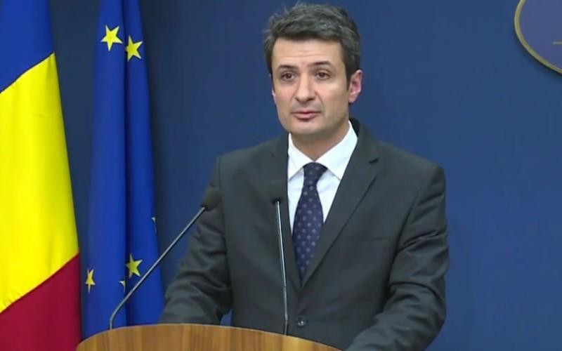 Patriciu Achimaș Cadariu a demisionat de la Ministerul Sănătății după scandalul dezinfectanților din spitale
