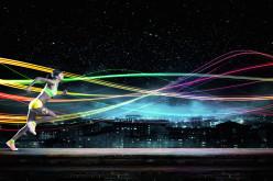 Alergare nocturnă sub clar de lună la Bucharest After9Cross