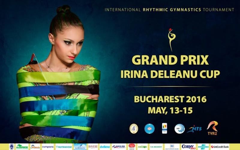 Primul Grand Prix Internaţional de Gimnastică Ritmică organizat în România, debutează pe 13 mai la Sala Polivalentă