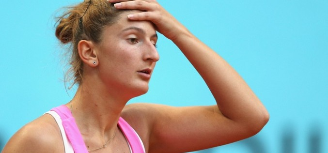 Irina Begu e out şi din proba de simplu feminin de la Indian Wells