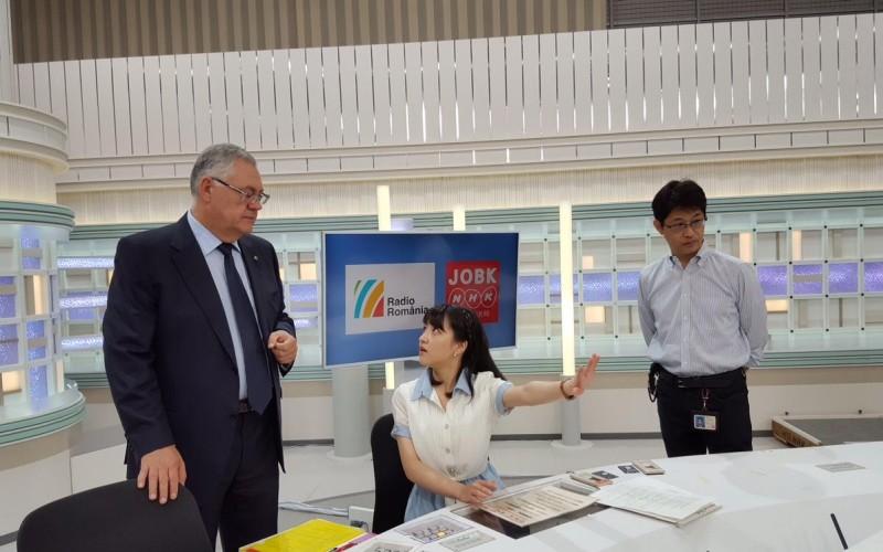 Radio România va colabora cu radioul de stat din Japonia, NHK