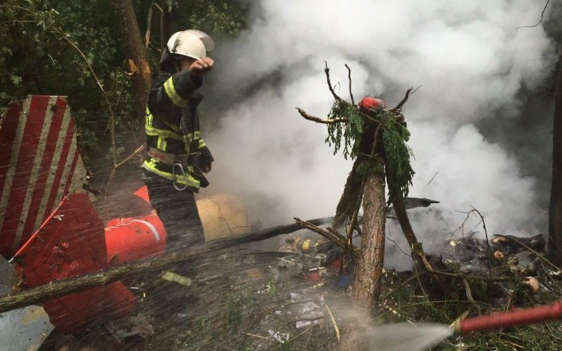 Tragedie în Republica Moldova. Elicopter SMURD cu patru persoane la bord, prăbușit la Cahul