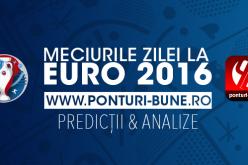 România joacă azi cu Elveția la Euro 2016. Vezi ce cote au tricolorii la casele de pariuri