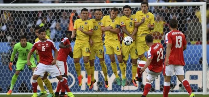 România nu a fost în stare să învingă nici pe Elveția la Euro 2016
