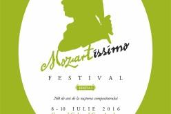 Casa Artelor găzduiește timp de trei zile Festivalul Mozartissimo