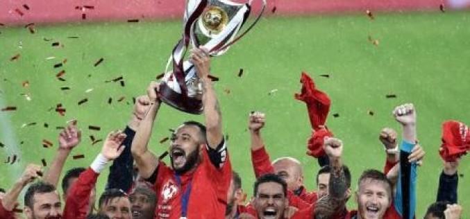 Astra Giurgiu a învins pe CFR Cluj și a cucerit Super Cupa României la fotbal
