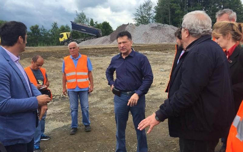 Noul Ministru al Transporturilor, Sorin Buşe, în inspecţie la pe DN 76 Deva – Oradea