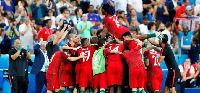 Portugalia a câștigat în premieră Campionatul European de Fotbal. A învins Franța cu 1-0