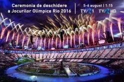 TVR va efectua peste 700 de ore de transmisii live de la Olimpiada din Brazilia