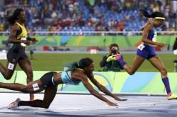 Shaunae Miller, aur olimpic la Rio după ce a plonjat pe burtă la linia de sosire