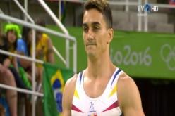 Marian Drăgulescu, ghinion curat la Rio. A rămas fără medalie deși a primit a treia notă din finală la sărituri