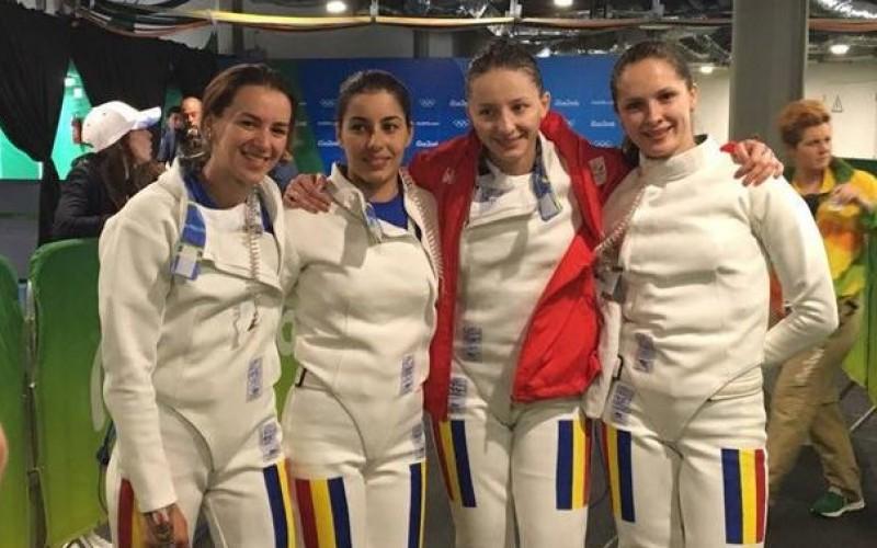 România, campioană olimpică la spadă feminin pe echipe
