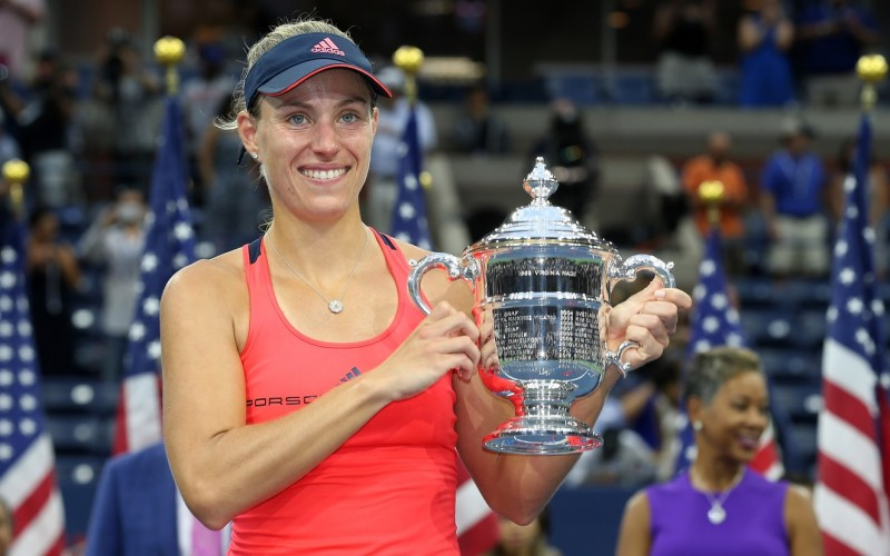 Angelique Kerber, regină pentru prima dată în carieră la US Open