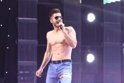 Striptease masculin pe scena X Factor România 2016