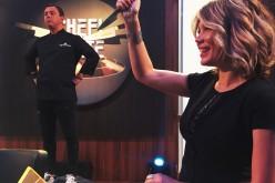 """Gina Pistol le cântă juraților pe platourile de filmare """"Chefi la cuțite"""""""