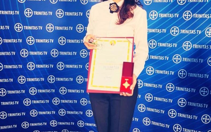 Iuliana Tudor, premiată de Patriarhia Română pentru promovarea folclorului