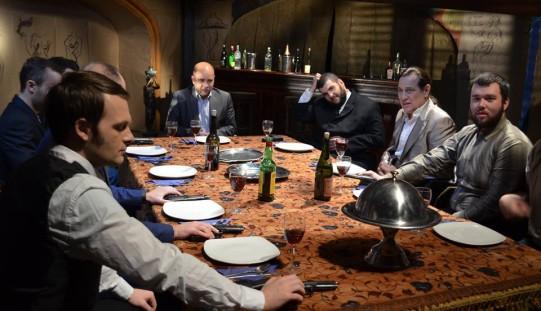 """Cosmin Seleși joacă rolul unui mafiot, în scurtmetrajul """"The Match"""""""