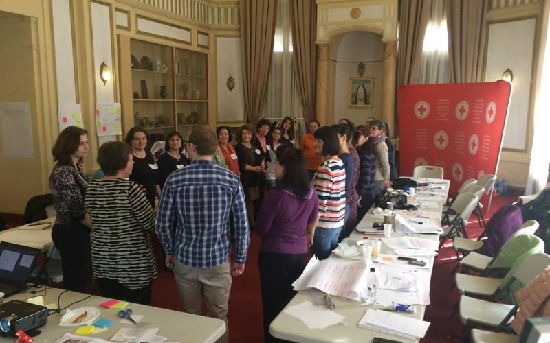 Rețea de suport pentru femeile victime ale violenței domestice, creată de Crucea Roșie Română