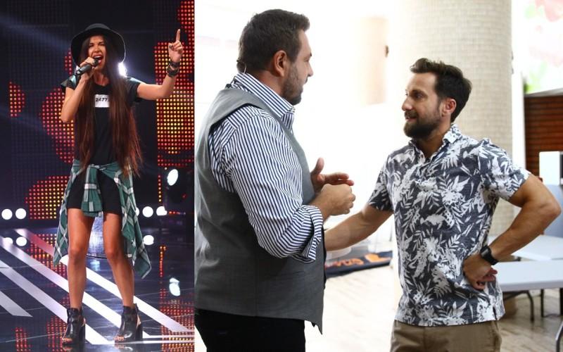 Dani Oțil îi spune unei concurente de la X Factor că se însoară