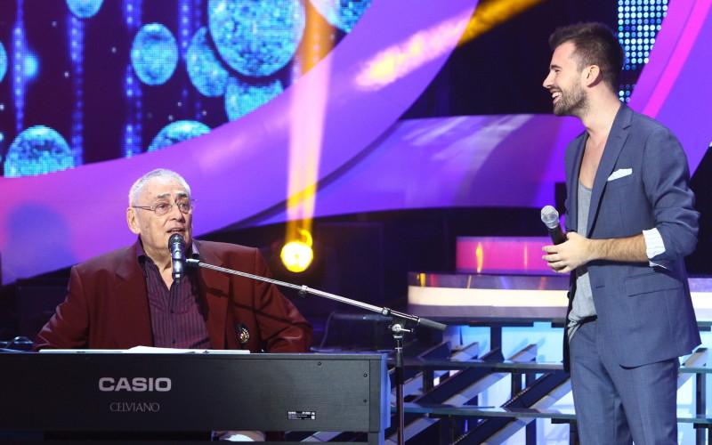 """Horia Moculescu canta cu Florin Ristei, in premiera, la """"Te cunosc de undeva!"""""""