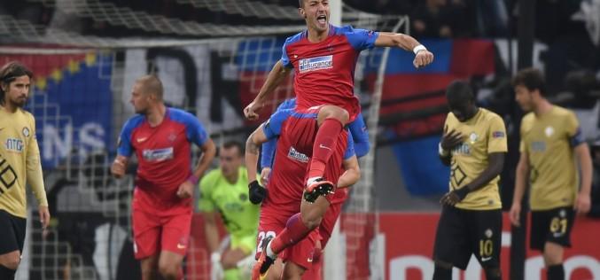 FCSB, victorie uriaşă în Europa League. A învins formația FC Lugano