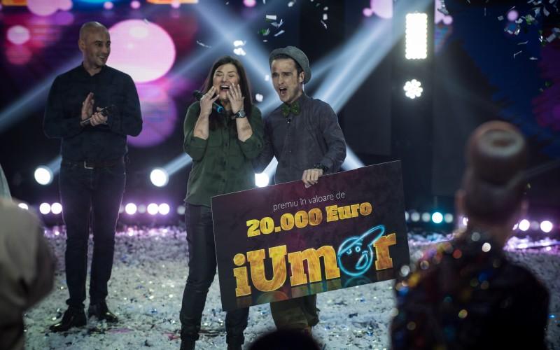 Maria Popovici a câștigat sezonul doi al emisiunii iUmor – VIDEO