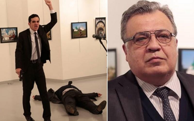 Ambasadorul Rusiei în Turcia, ucis la Ankara de un ofițer de poliție turc