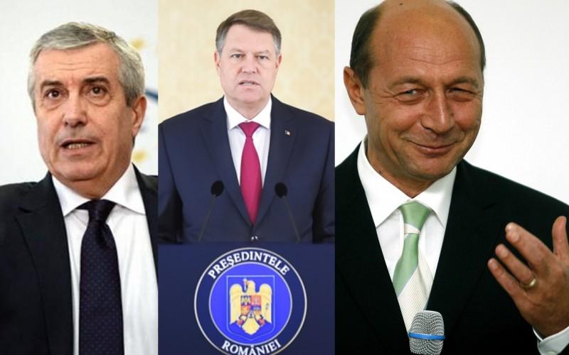Iohannis, negocieri secrete cu Băsescu și Tăriceanu. Băsescu ar putea deveni prim ministru