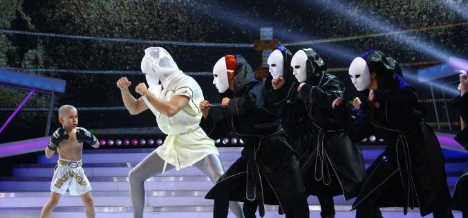 """Acrobație aeriană, robotică, muzică, dans, pantomimă, acro dance și box,  în Finala """"Next Star"""""""