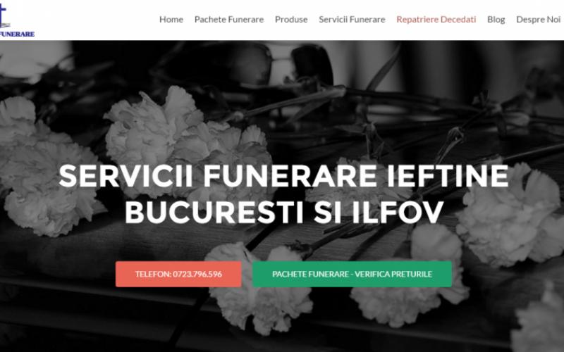 Susţinere profesională din partea companiei Funerare Ieftine pentru cei îndoliaţi
