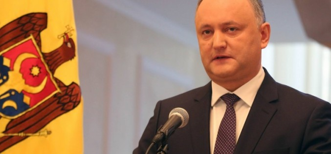 Dodon sfidează din nou România: Vrea să scoată istoria românilor din manuale